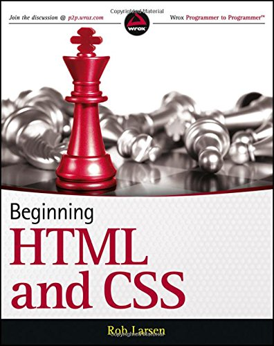 Beginning HTML and CSS by Wrox