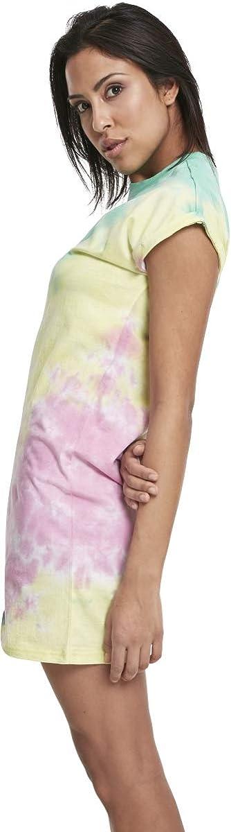 Urban Classics Ladies Tie Dye Dress Vestito Donna