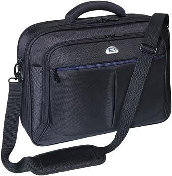 Color Negro 43,9 cm, con Compartimento para Noche Malet/ín con Ruedas para port/átiles de hasta 17,3 Pedea Premium Plus