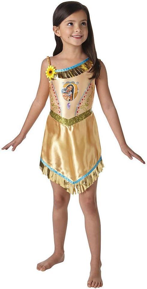 Rubies Vestido de lujo oficial de Pocahontas – Disfraz – Disfraz ...