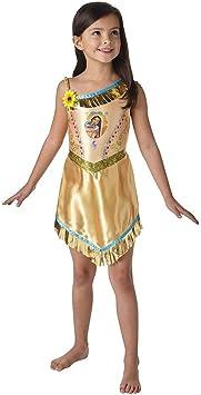 Rubies Vestido de lujo oficial de Pocahontas – Disfraz – Disfraz de ...