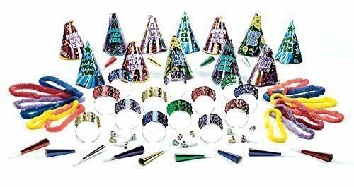 Amscan 92510.25 Party Supplies (6 Piece), Multicolor, One Size