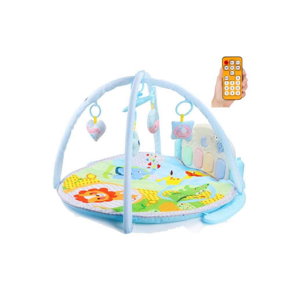 Infant Puzzle Frühes Lernen Musik Fitness Stehen Neugeborenen Fernbedienung Pedale 0-18 Monate Baby Spielzeug