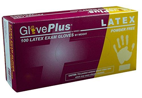 AMMEX - GPPFT42100-BX - Latex Gloves - GlovePlus - Disposabl