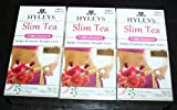 Hyley's Pomegranate Slim Tea 25 Foil Envelopes PACK OF 3