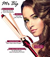 "Mr Big Curling Iron, Extra Long Ceramic - The Best Curling Iron for Long Hair, Diameter, 9.5"" Barrel - The Longest on the Market"