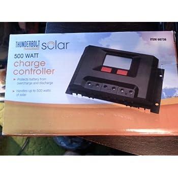 amazon com 500 watt solar charge controller solar panels rh amazon com