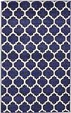 Unique Loom Trellis Collection Moroccan Lattice Dark Blue Area Rug (3' 3 x 5' 3)