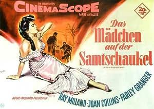 The Girl in the Red Velvet Swing Movie Poster (11 x 17 Inches - 28cm x 44cm) (1955) German Style A -(Ray Milland)(Joan Collins)(Farley Granger)(Luther Adler)(Cornelia Otis Skinner)(Glenda Farrell)