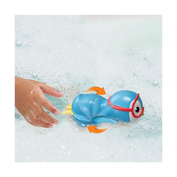 Munchkin Wind Up Swimming Penguin Bath Toy,