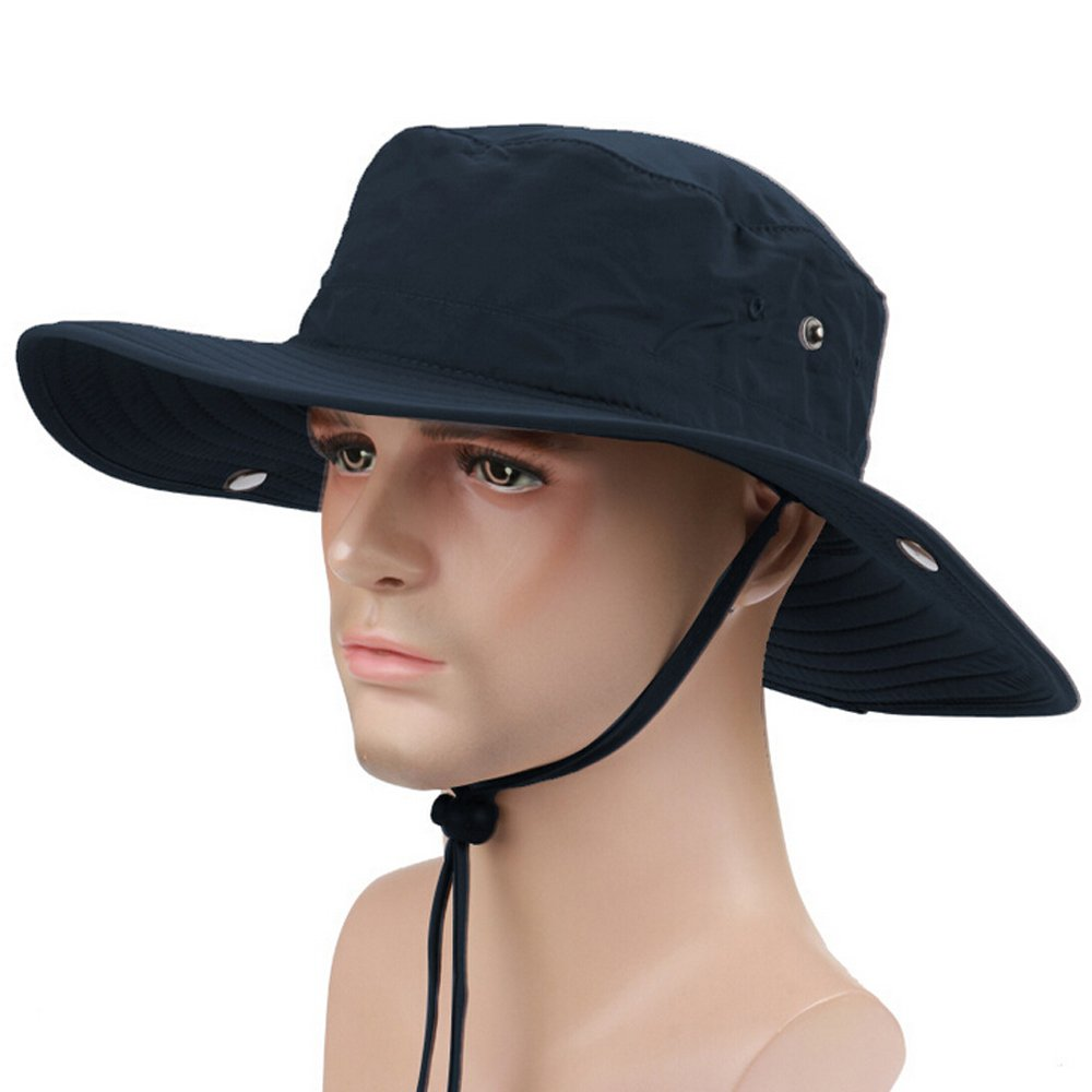 Military Hats for Men Outdoor Boonie Hat Hiking Hat Bucket Hats for Men  Collapsible Sun Hats Army Hats for Men Quick-Dry Fishing Hat Sun Protection  Wide ... d20c4835c4d