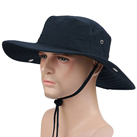 63828066485 Military Hats for Men Outdoor Boonie Hat Hiking Hat Bucket Hats for Men  Collapsible Sun Hats