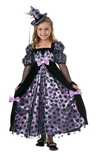 Girls Glitter Witch Costumes (Rubie's Costume Glitter Witch Girls Costume, Medium)