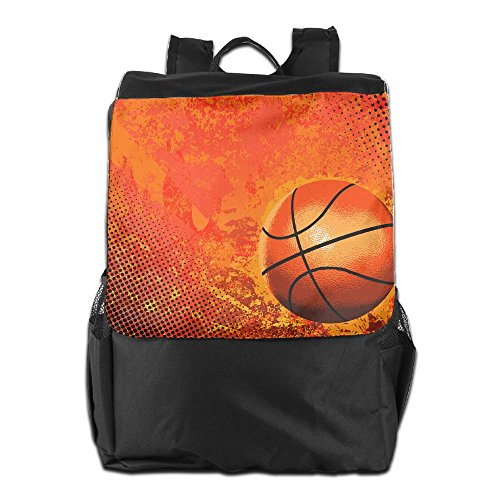 Cool Yellow Basketball Unisex Casual Travelling Bags by HIFUN
