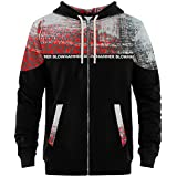 Blowhammer - Men's Zip Hoodie - Chipped Red ZH