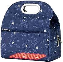 【ヒーター内蔵】保温バッグ ランチバッグ USBヒーター内蔵 電熱バッグ お弁当バッグ 手提げ お弁当袋 大容量 通勤 通学 保温 保冷 防水 可愛い 男女兼用