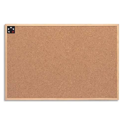 5 Star Office 906705 Korktafel 60 x 40 cm Kork / Holz Stück, braun