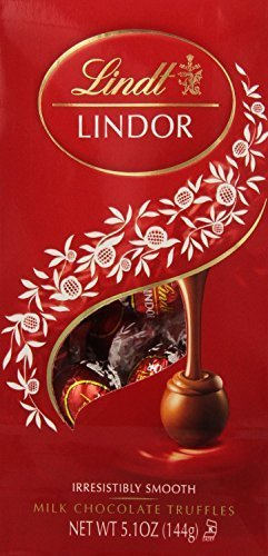 - Lindt Lindor Milk Chocolate Truffles, 5.1-Ounce Bag
