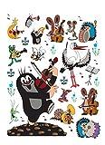 Little Mole Poster-Sticker Wall-Tattoo - Music (34 x 26 inches)