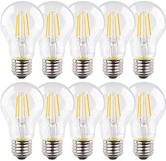 Müller Licht LED Filament Leuchtmittel Kerze 4,5W = 40W E14 klar warmweiß 2700K