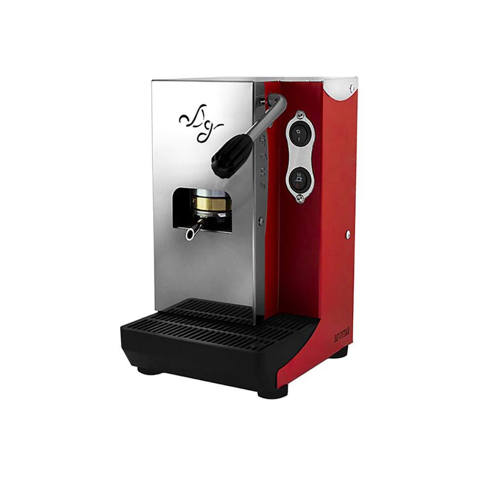 MACCHINA DA CAFFE IN CIALDE 44MM MODELLO AROMA PLUS ROSSA