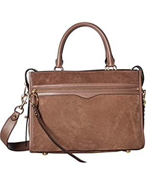 Womens Bedford Zip Satchel