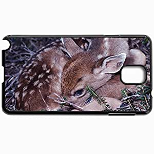 Fashion Unique Design Protective Cellphone Back Cover Case For Samsung GalaxyNote 3 Case Deer Black