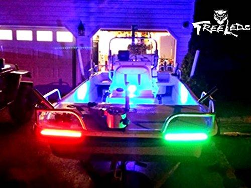 marine-navigation-boat-bow-led-lighting-waterproof-red-green-stripe-kit
