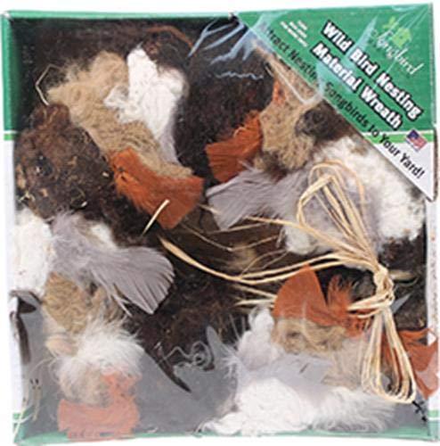 (SONGBIRD ESSENTIALS SEWF91008 Nesting Material Wreath)