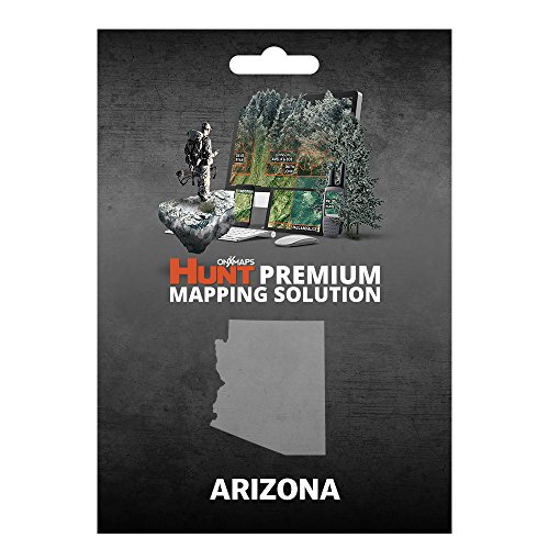onXmaps HUNT Arizona: Digital Hunting Map For Garmin GPS + Premium Membership For Smartphone and Computer Color Coded Land Ownership 24k Topo Hunting Specific Data