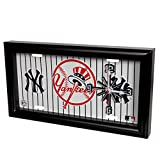 New York Yankees - License Plate Wall Clock