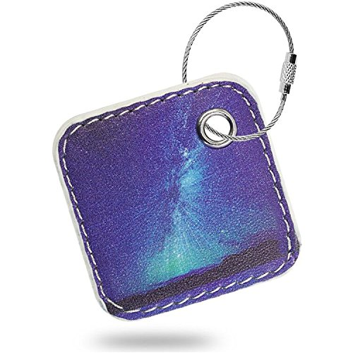 Case Compatible Tile Mate - Key Finder. Phone Finder. Anything Finder. Tile Mate Case Cover with Keychain. Tile Mate Skin PU Leather Protection - Aurora