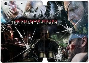 [Tirón del cuero de la PU] iPad mini 1 Mini 2 Mini 3 funda Metal Gear Solid V El dolor fantasma [Theme] GJ6953