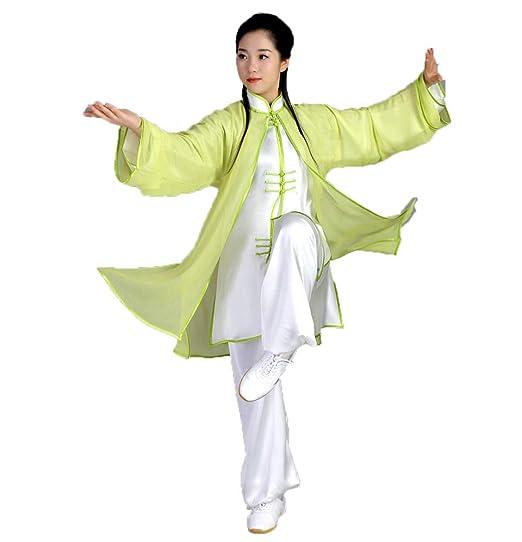 Tai Chi Ropa Clásico Hombre Mujer Transpirable Tai Chi Traje ...