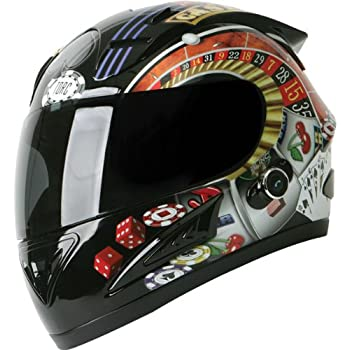 Torc Player with Blinc Bluetooth Adult Prodigy T-10B Sports Bike Motorcycle Helmet - Black / X-Large