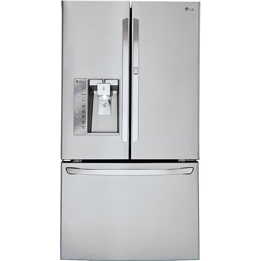 French Door lg 30 french door refrigerator pictures : Amazon.com: LG LFXS30766S 36