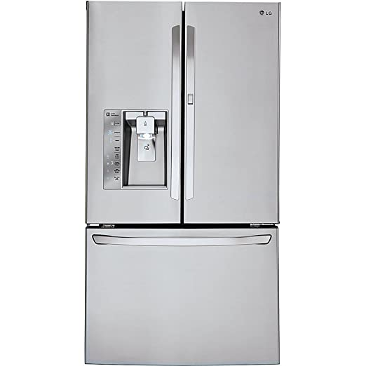 LG LFXS30766S 29 6 cu  ft  Smart Wi-Fi Enabled French Door