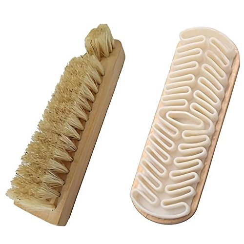 Beaumens Shoe Shoes Boots Shine Brush Cleaning Kit Horsehair Bristles Suede Nubuck Leathers by Beaumens (Image #8)