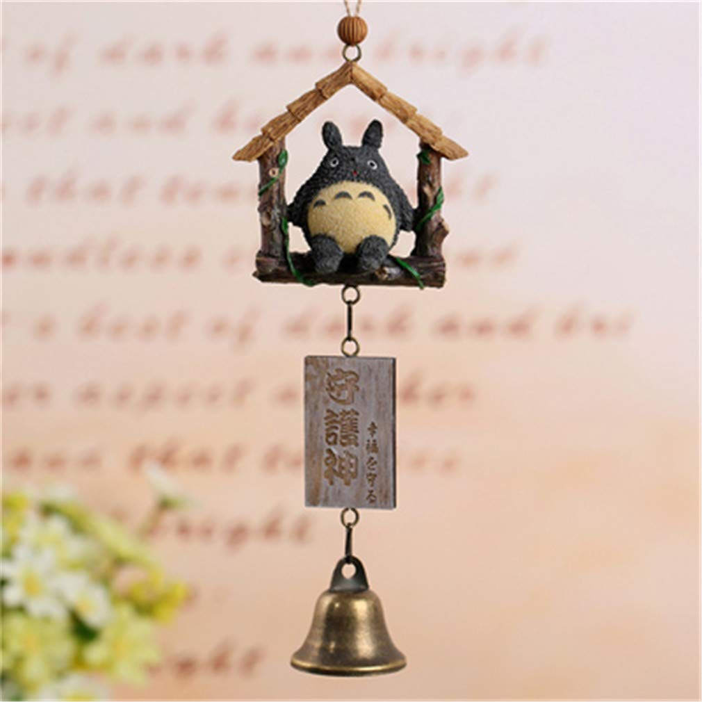 Resin Wind Chimes Dragon Hanging Door Bell Outdoor Indoor Animal Ornaments Home Car Hanging Decor Birthday Gift Crafts House