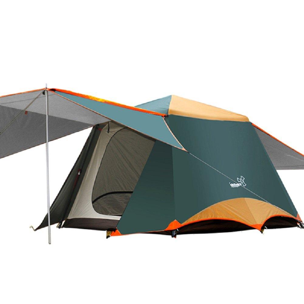 Linjinfeng Rahmen Zelten Outdoor Sofortige 2–4 Pop-Up Dome Zelt – einfach, automatische Konfiguration – Ideal Unterschlupf für Casual Familie Camping Wandern