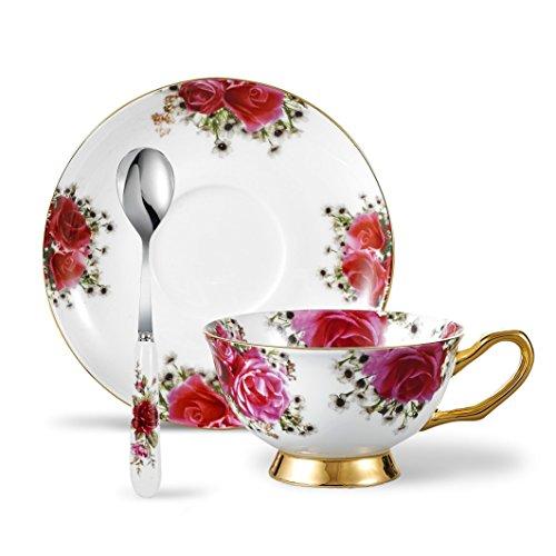 Rose Coffee Teacup - 9