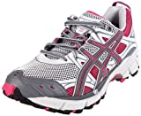ASICS Women's Gel-Kahana 5 Running Shoe,Dark Grey/Charcoal/Pink,8.5 M US