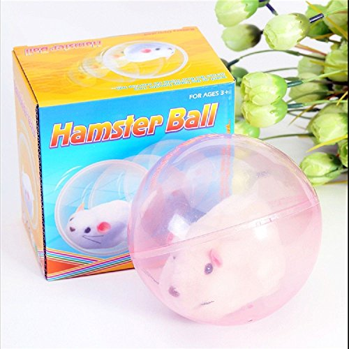 Walking Rolling Cartoon Small Hamster Ball Electric Hamster Toy Kids Gift Funny