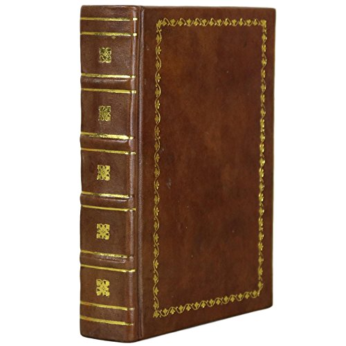 Antique Old Books (Old Leather Bound Book Journal Notebook Diary Blank (Brown, 5