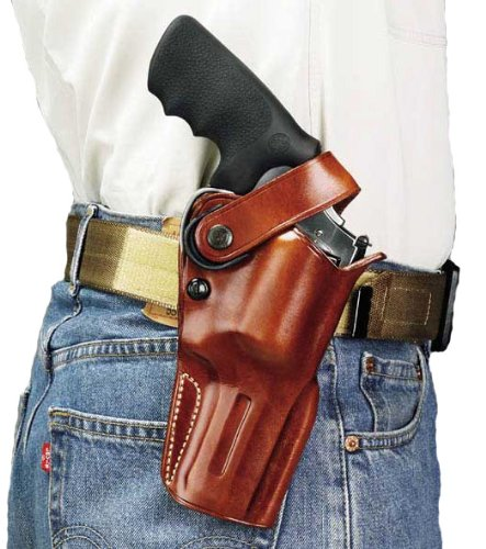Galco Dual Action Outdoorsman Holster for Taurus Judge 3-Inch (2 1/2-Inch cyl) (Tan, Right-Hand) (Dual Revolver Holster)