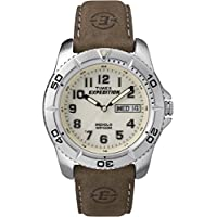 Men's T46681 Expedition Traditional Brown Leather Strap Watch