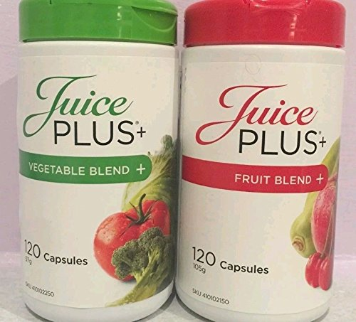 Juice Plus Premium Capsule 120 Fruit Blend 120 Vegetable Blend by ...