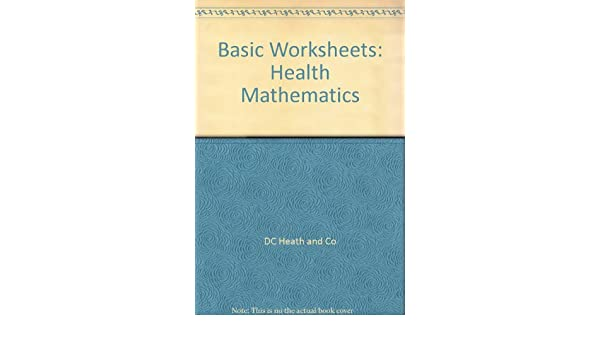 Counting Number worksheets grade 7 math probability worksheets : Basic Worksheets: Health Mathematics: DC Heath and Co ...
