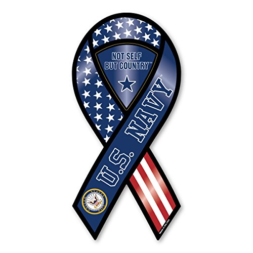 U.S. Navy Ribbon Magnet- Not For Self But Country