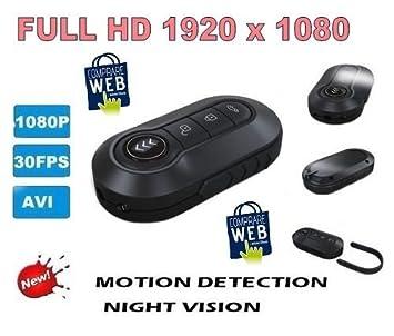 Mando a distancia con cámara coche espía video falso FullHD 1920 x 1080P llavero cámara cw65 Comprare web: Amazon.es: Electrónica